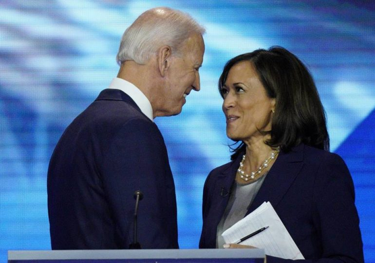 Joe Biden y Kamala Harris camino a la Casa Blanca