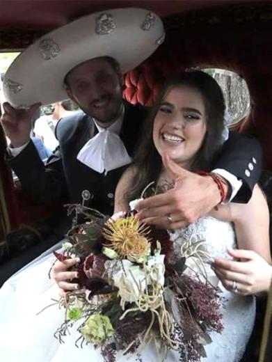 Por un error, Camila Fernández no pudo llegar a su boda