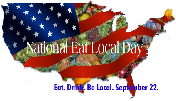 Celebren el Día Nacional Comiendo en la Localidad/Celebrate National Eat Local Day