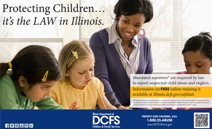 DCFS lanza un sistema para denunciar el abuso y la negligencia infantil /  DCFS Launches Enhanced, Streamlined Online System for Reporting Child Abuse and Neglect