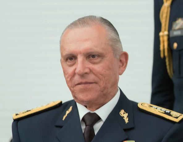 El general Salvador Cienfuegos ya está en México