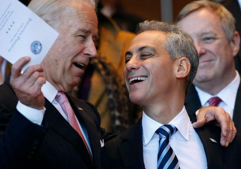 Nombrar a Rahm Emanuel en el equipo de gobierno de Biden sería un error