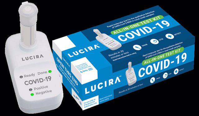 La FDA autoriza la primera prueba de COVID-19 para auto diagnosticarse en el hogar