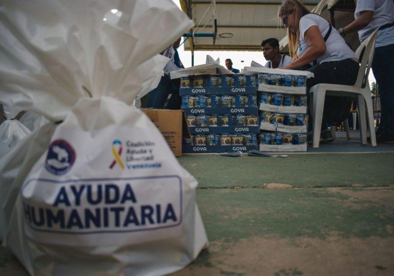 Goya dona alimentos al pueblo de Venezuela