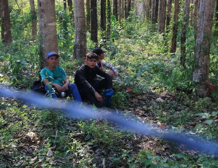 El férreo control de la frontera sur mexicana inhibe el flujo de migrantes
