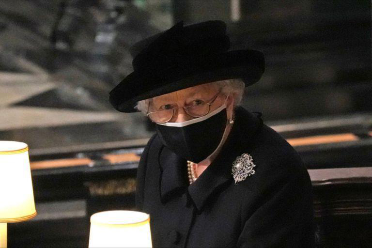 La imagen más desgarradora de la reina Isabel en el funeral del príncipe Felipe