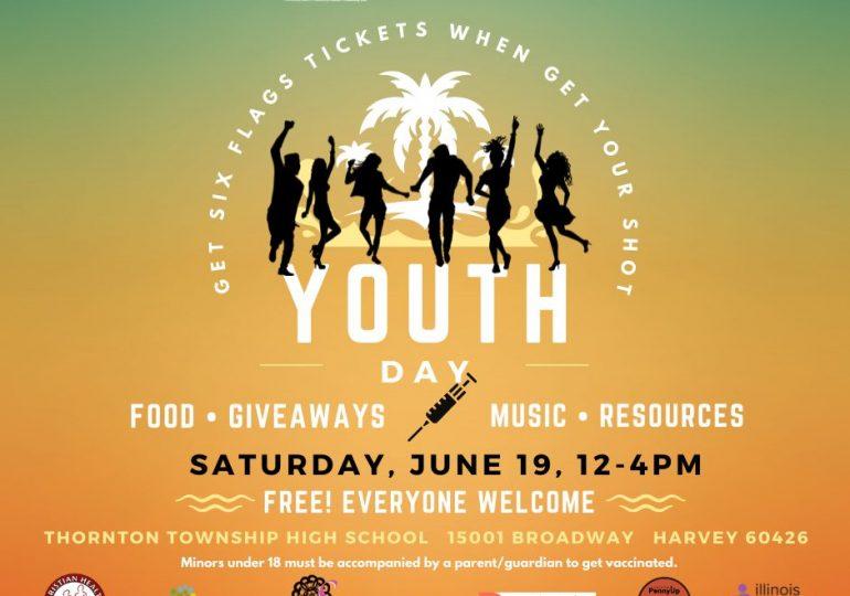19 de junio día de vacunación para la Juventud organizado por CCDPH/June 19 Youth Vaccination Day organized by CCDPH