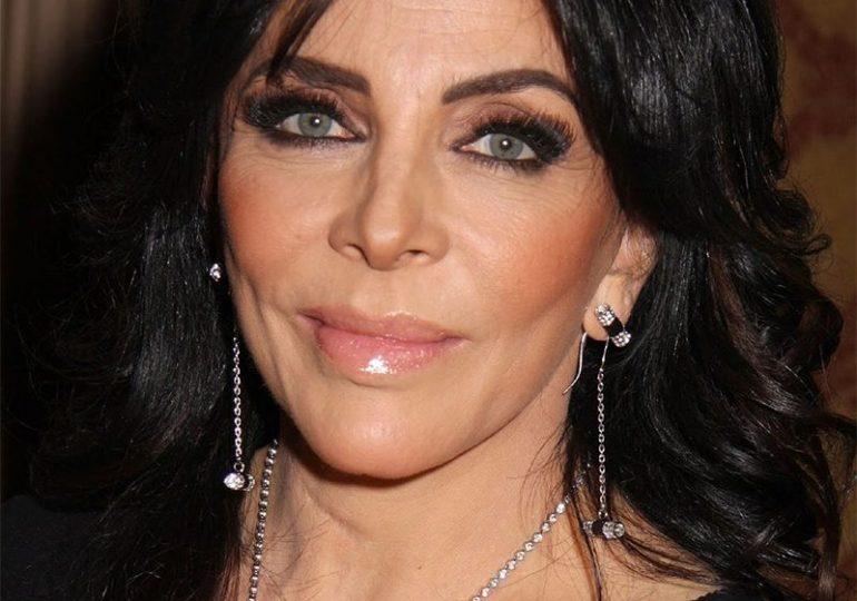 Problemas de salud de Verónica Castro impiden su regreso a la TV .
