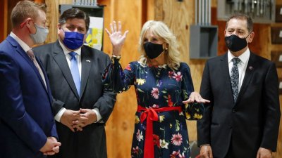 Jill Biden visita Chicago y resalta las contribuciones de los Hispanos/Jill Biden visits Chicago and highlights the contributions of Hispanics