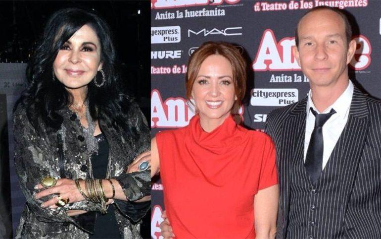 Legarreta reacciona al romance que tuvo su esposo con María Conchita Alonso