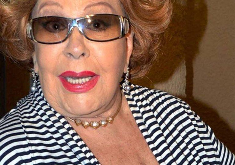A Silvia Pinal le gustaría recibir un homenaje en el Palacio de Bellas Artes